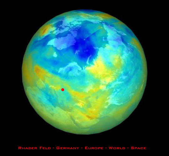 Ausreichende entfernung zum ozonloch prognose ca 40 j bewohnbar